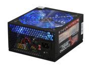 Only $89.99 for Ready for both SLI and Crossfire video boards with ATX and EPS compatibility AZZA's Dynamo 850 is ready to take on the duty of supplying the most demanding system. 850 watts of power is more than enough to power your growing system for the next couple of years. You'll have power for all your peripherals with a 20+4-pin main connector a 4-pin ATX12V connector an 8-pin EPS12V connector two SLI connectors six SATA connectors eight IDE connectors and a floppy connector. Cooling is handled by an ultra-large 140mm fan with blue LEDs. A hexagonal grid pattern on the back panel ensures that the components will get plenty of airflow. Fans: 1 x 140mm Blue LED Fan Main Connector: 20+4Pin +12V Rails: 4 PCI-Express Connector: 2 x 6-Pin 2 x 6+2-Pin SATA Power Connector: 6 Efficiency: >78% Over Voltage Protection: Yes Overload Protection: Yes. SKU N82E16817517003 in the Power Supplies category.