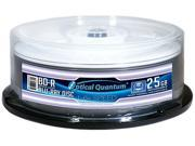 Optical Quantum 25GB 6X BD-R White Thermal Printable 25 Packs Blu-ray Disc Model OQBDR06WTP-25