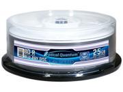Optical Quantum 25GB 6X BD-R White Thermal Everest Hub Printable 25 Packs Blu-ray Disc Model OQBDR06WTP-E-25
