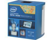 Intel Xeon E3-1220 V3 3.1 GHz LGA 1150 80W BX80646E31220V3 Server Processor