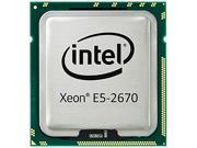 HP SL230s Gen8 Intel Xeon E5-2670 Sandy Bridge-EP 2.6GHz (Turbo Boost up to 3.3GHz) LGA 2011 115W 654408-B21 Server Processor Kit