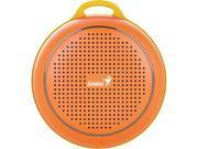 Genius Speaker 31731070100 SP-906BT Bluetooth4.1 30m 3W 40mm MicroUSB Orange Retail