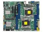 Supermicro Motherboard MBD-X10DRL-C-B LGA2011 Xeon E5-2600v3 C612 DDR4 PCI Express SATA ATX Brown Box