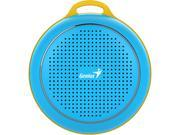 Genius Speaker 31731070101 SP-906BT Bluetooth4.1 30m 3W 40mm MicroUSB Blue Retail
