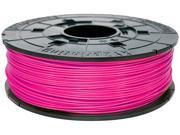 XYZprinting da Vinci ABS Filament (for 1.0, 1.1+, AiO, 2.0, Pro), NEON MAGENTA Color