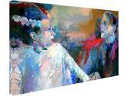Trademark Fine Art ALI0342 C1624GG Richard Wallich Frankenstein and His Wife