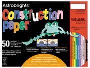 Astrobrights Construction Paper, 72-Lb., 12 X 18, Assorted, 50 Sheets/