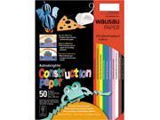 Astrobrights Construction Paper, 72-lb., 9 x 12, Assorted, 50 Sheets/P