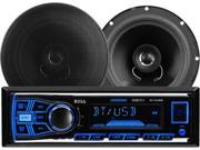 BOSS Audio 638BCK 611UAB Mechless Bluetooth®Enabled Audio Streaming MP3 Digital Media Receiver Speaker Package System