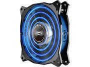 LEPA CHOPPER ADVANCE LPCPA12P-BL Cooling Fan - 120 mm - 1500 rpm70.4 CFM - 20 dB(A) Noise - Barometric Oilless Bearing - Blue LED