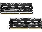 Avexir Blitz 8GB (2 x 4GB) 240-Pin DDR3 SDRAM DDR3 2400 (PC3 19200) Desktop Memory Model AVD3U24001004G-2BZ1SW