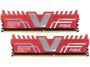 V-Color Standard Series 16GB (2 x 8GB) 288-Pin DDR4 SDRAM DDR4 2400 (PC4 19200) Desktop Memory Model TD8G16C16-UHK