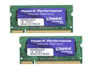 Kingston HyperX 2GB (2 x 1GB) 200-Pin DDR2 SO-DIMM DDR2 800 (PC2 6400) Dual Channel Kit Laptop Memory