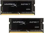 HyperX Impact 16GB (2 x 8G) 260-Pin DDR4 SO-DIMM DDR4 2400 (PC4 19200) Laptop Memory Model HX424S14IBK2/16