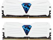 GeIL SUPER LUCE 8GB 2 x 4GB 288 Pin DDR4 SDRAM DDR4 2400 PC4 19200 Desktop Memory Model GLWW48GB2400C15DC