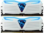 GeIL SUPER LUCE 16GB (2 x 8GB) 288-Pin DDR4 SDRAM DDR4 2400 (PC4 19200) Desktop Memory Model GLWB416GB2400C15DC