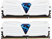 GeIL SUPER LUCE 16GB 2 x 8GB 288 Pin DDR4 SDRAM DDR4 2400 PC4 19200 Desktop Memory Model GLWW416GB2400C15DC