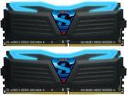 GeIL SUPER LUCE 16GB (2 x 8GB) 288-Pin DDR4 SDRAM DDR4 3000 (PC4 24000) Desktop Memory Model GLB416GB3000C16DC
