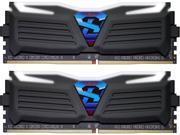 GeIL SUPER HERO 8GB (2 x 4GB) 288-Pin DDR4 SDRAM DDR4 3466 (PC4 27730) Desktop Memory Model GLW48GB3466C16DK