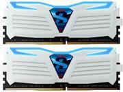 GeIL SUPER LUCE 16GB (2 x 8GB) 288-Pin DDR4 SDRAM DDR4 3000 (PC4 24000) Desktop Memory Model GLWB416GB3200C16DC