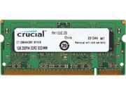 Crucial 1GB 200-Pin DDR2 SO-DIMM DDR2 667 (PC2 5300) Laptop Memory Model CT12864AC667