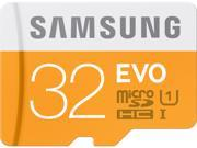 Samsung 32GB EVO microSDHC UHS-I/U1 Class 10 Memory Card with Adapter (MB-MP32DA/AM)
