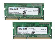 Crucial 4GB (2 x 2GB) 204-Pin DDR3 SO-DIMM DDR3L 1333 (PC3L 10600) Laptop Memory Model CT2KIT25664BF1339