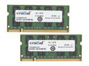 Crucial 4GB (2 x 2GB) 200-Pin DDR2 SO-DIMM DDR2 800 (PC2 6400) Memory for Apple Model CT2K2G2S800M