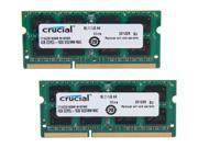Crucial 8GB 2 x 4GB 204 Pin DDR3 SO DIMM DDR3 1600 PC3 12800 Memory for Apple Model CT2K4G3S160BM
