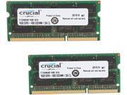 Crucial 32GB (2 x 16G) 204-Pin DDR3 SO-DIMM DDR3L 1600 (PC3L 12800) Laptop Memory Model CT2KIT204864BF160B