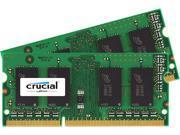 Crucial 4GB (2 x 2GB) 204-Pin DDR3 SO-DIMM DDR3L 1866 (PC3L 14900) Memory Model CT2K25664BF186DJ