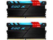GeIL EVO X 16GB 2 x 8GB 288 Pin DDR4 SDRAM DDR4 3000 PC4 24000 Desktop Memory Model GEX416GB3000C15ADC
