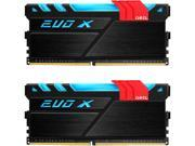 GeIL EVO X 8GB (2 x 4GB) 288-Pin DDR4 SDRAM DDR4 2400 (PC4 19200) Memory (Desktop Memory) Model GEX48GB2400C15DC