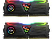 GeIL 16GB (2 x 8GB) 288-Pin DDR4 SDRAM DDR4 2666 (PC4 21330) Desktop Memory Model GLS416GB2666C16ADC