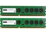 Wintec Value 8GB (2 x 4GB) 240-Pin DDR3 SDRAM DDR3 1333 (PC3 10600) Desktop Memory Model 3VH13339U8-8GK