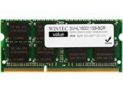 Wintec Value 8GB 204-Pin DDR3 SO-DIMM DDR3 1600 (PC3 12800) Laptop Memory Model 3VHL160011S9-8GR