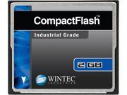 Wintec 2GB Compact Flash (CF) Card Industrial Grade SLC Nand Black Model 33100002GCF