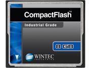 Wintec 8GB Compact Flash (CF) Card Industrial Grade SLC Nand Black Model 33100008GCF