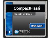 Wintec 128MB Compact Flash (CF) Card Industrial Grade SLC Nand Black Model 33100128MCF