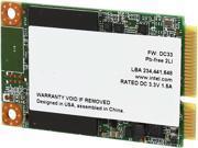 Intel mSATA 120GB SATA III Internal Solid State Drive (SSD) SSDMCEAW120A401