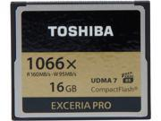 Toshiba EXCERIA PRO 16GB Compact Flash (CF) Flash Card Model THNCF016GSGI