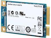 SanDisk Ultra II mSATA 128GB SATA Revision 3.0 (6 Gbit/s) Internal Solid State Drive (SSD) SDMSATA-128G-G25