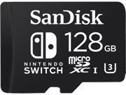 SanDisk 128GB Nintendo Switch microSDXC Memory Card, Speed Up to 100MB/s (SDSQXAO-128G-GN6ZA)