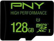 PNY High Performance 128GB microSDXC Flash Card Model P-SDUX128U160G-GE