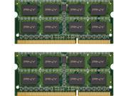 PNY NHS 8GB (2 x 4GB) 204-Pin DDR3 SO-DIMM DDR3L 1600 (PC3L 12800) Laptop Memory Model MN8GK2D31600LV
