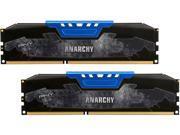 PNY Anarchy 8GB (2 x 4GB) 288-Pin DDR4 SDRAM DDR4 2400 (PC4 19200) Desktop Memory Model MD8GK2D4240015AB