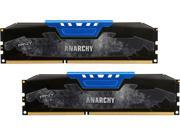 PNY Anarchy 16GB (2 x 8GB) 240-Pin DDR3 SDRAM DDR3 1866 (PC3 14900) Desktop Memory Model MD16GK2D3186610AB