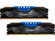 PNY Anarchy 8GB (2 x 4GB) 240-Pin DDR3 SDRAM DDR3 1600 (PC3 12800) Desktop Memory Model MD8GK2D316009AB-Z