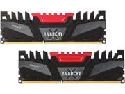 PNY Anarchy X 16GB (2 x 8GB) 240-Pin DDR3 SDRAM DDR3 2400 (PC3 19200) Desktop Memory Model MD16GK2D3240011AXR