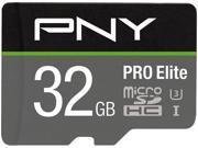 PNY PRO Elite 32GB microSDHC Memory Card Model P-SDU32GU395PRO-GE